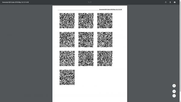 QR Gallery example picture
