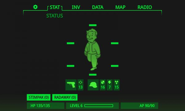 Pip-Boy 3018 example picture