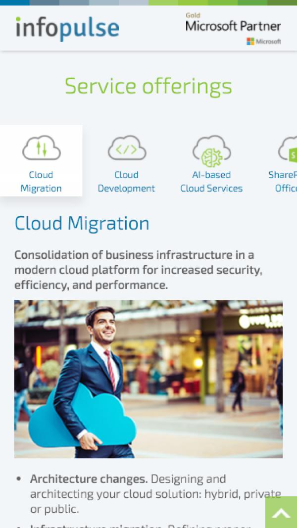Cloud Transformation example picture